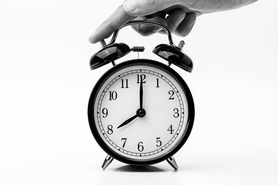 Set a Time for Social media