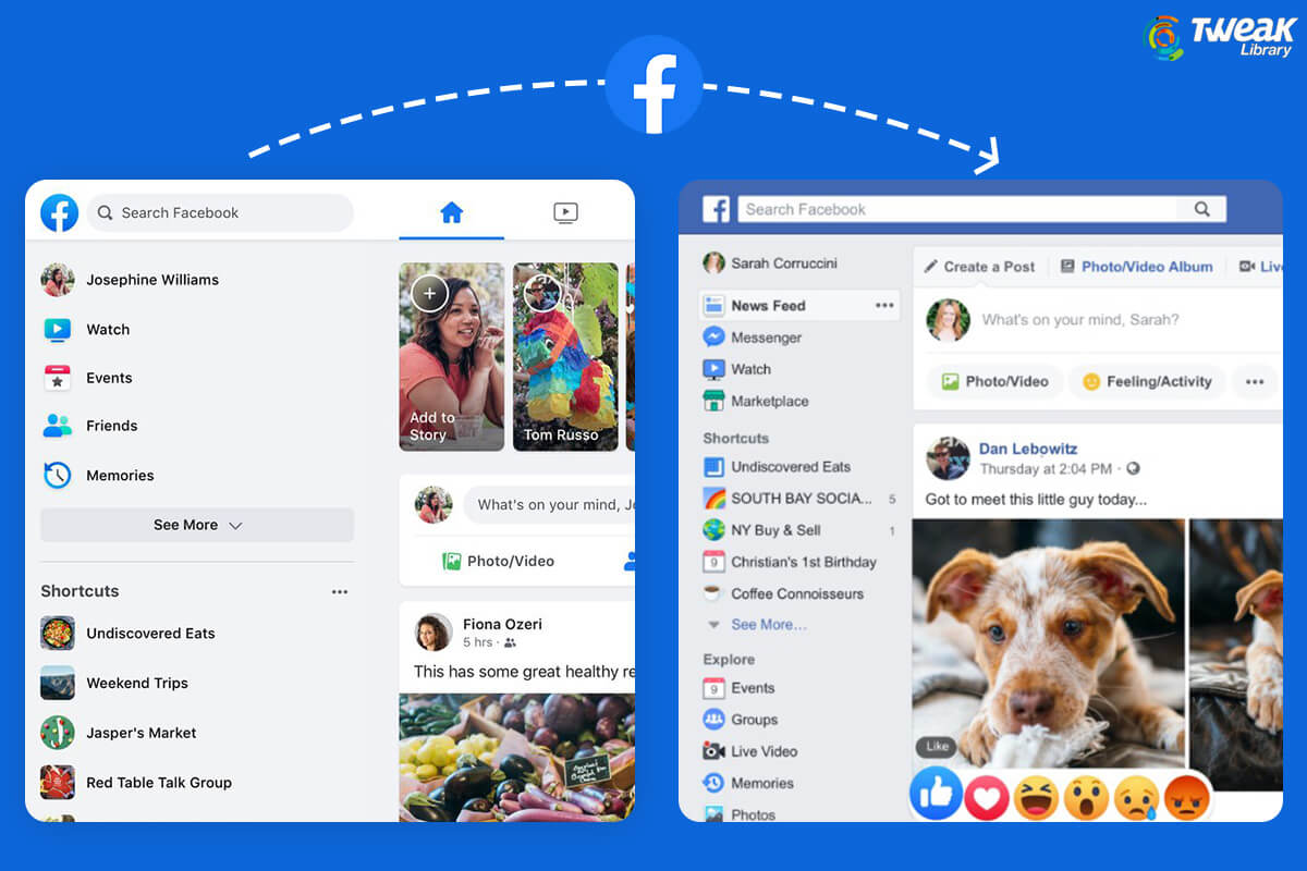 Here's How to Get Back Your Old Facebook Layout Easily