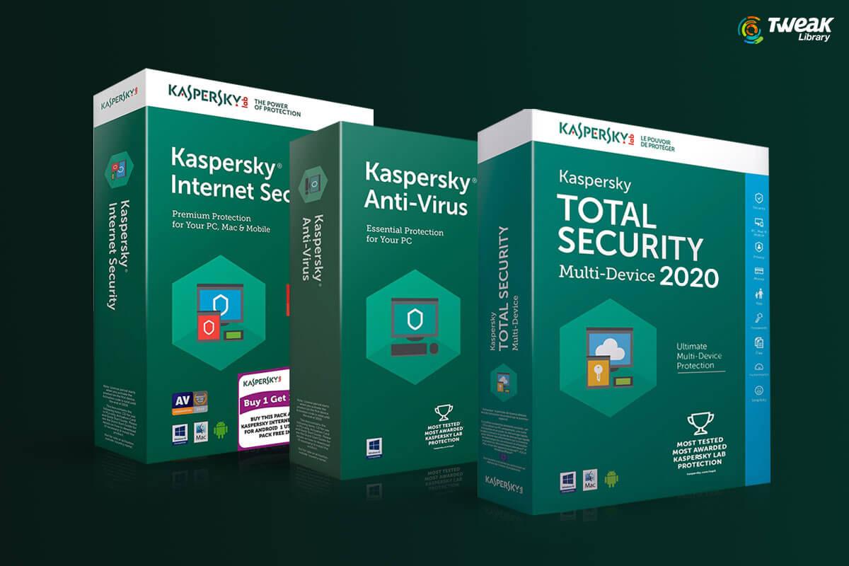 Kaspersky Antivirus, Total Security, and Kaspersky Internet Security 2021 (Full Review)