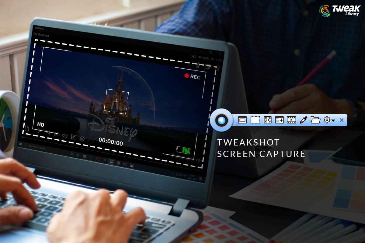 TweakShot Screen Capture- Best Way To Take Screenshot & Record Video