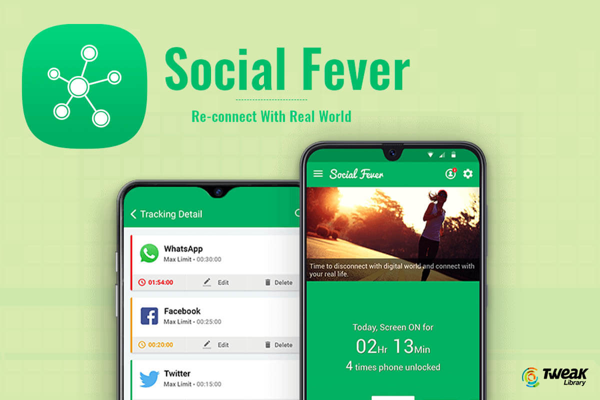 Review: Social Fever: Stop Smartphone Addiction App For Android