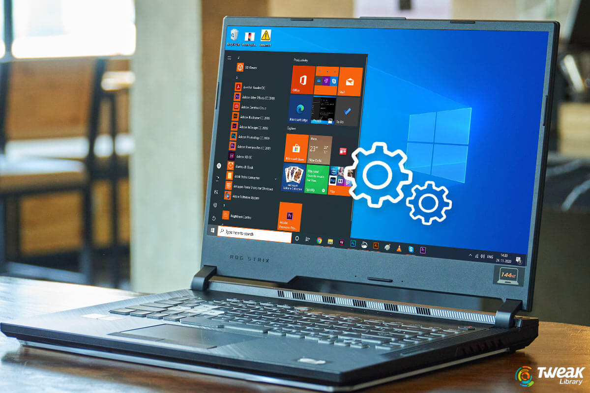 Things to do with a New Laptop: Settings to Tweak
