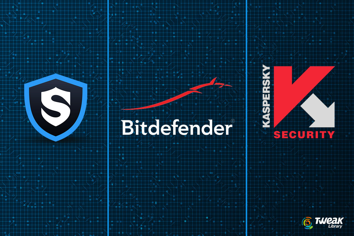 Bitdefender vs Kaspersky vs Systweak Antivirus