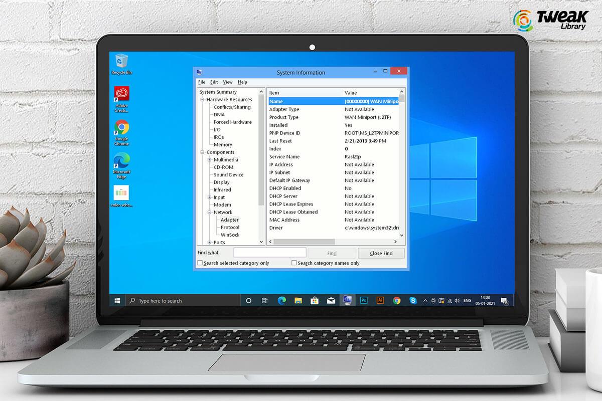 Best Ways To View Network Adaptor Details On Windows 10