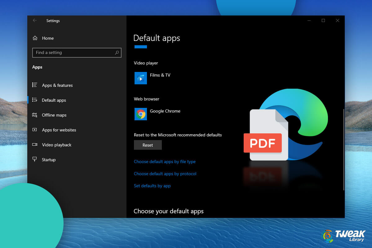 How To Get Rid Of Microsoft Edge Default PDF Viewer