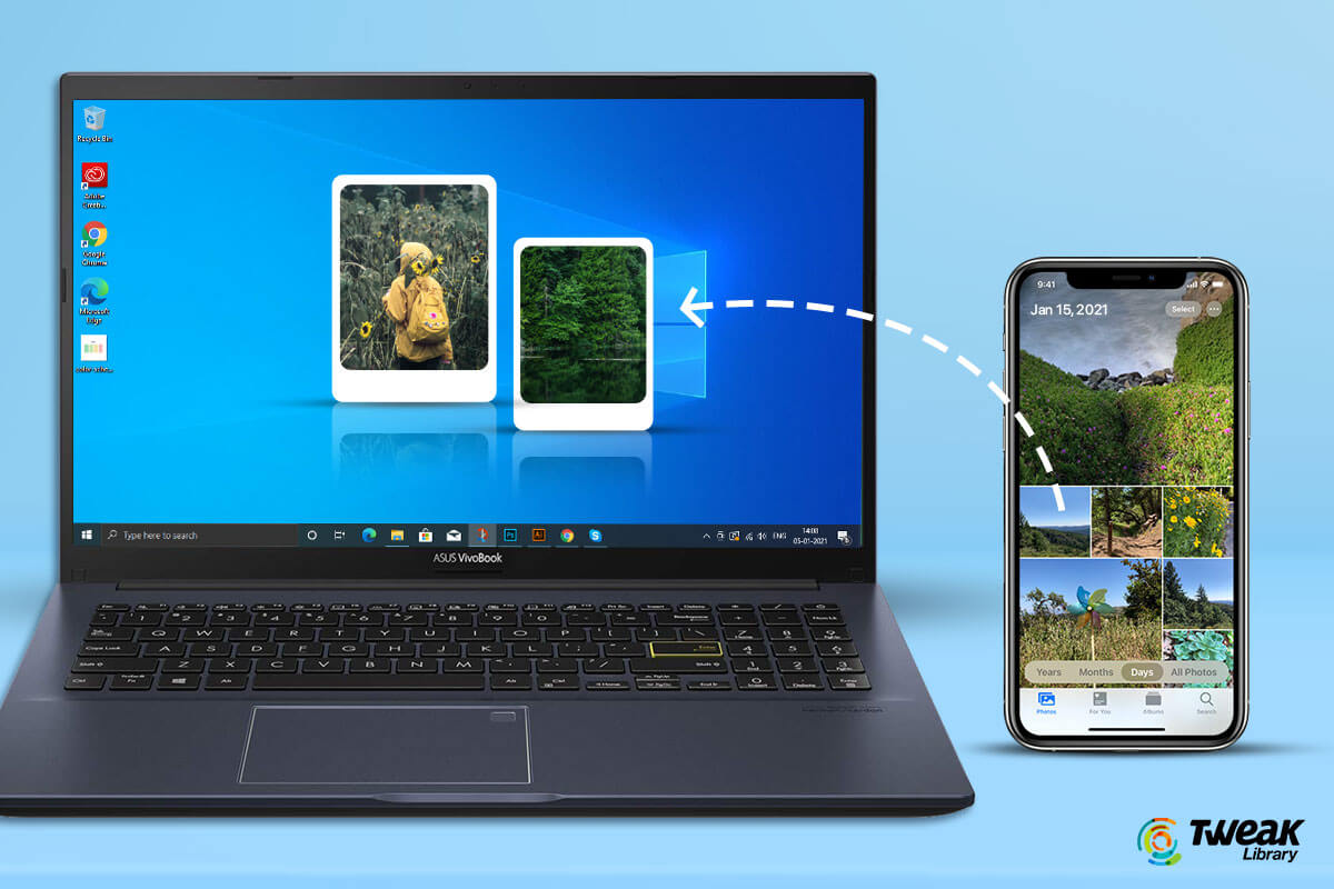 How to Import Photos From iPhone to Windows 10 in 2021