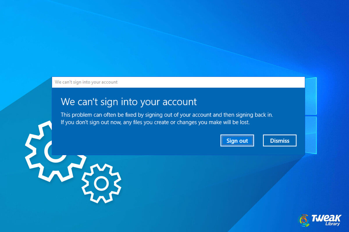Unable To Login To Microsoft Account On Windows 10 – Fixes