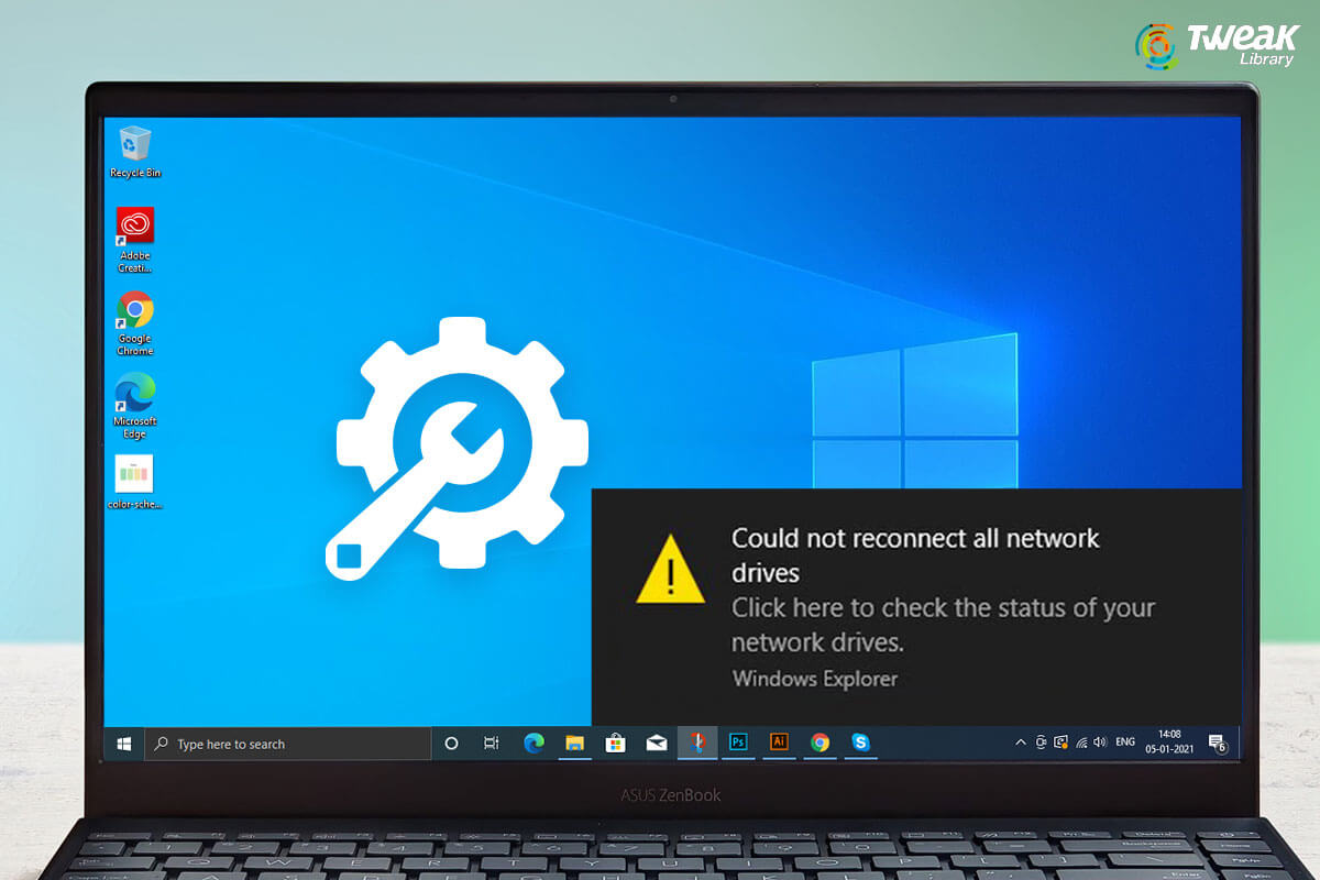 Fixed – Windows 10 Could Not Reconnect All Network Drives