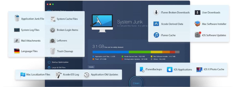 Mac Booster 8 - Scan Process