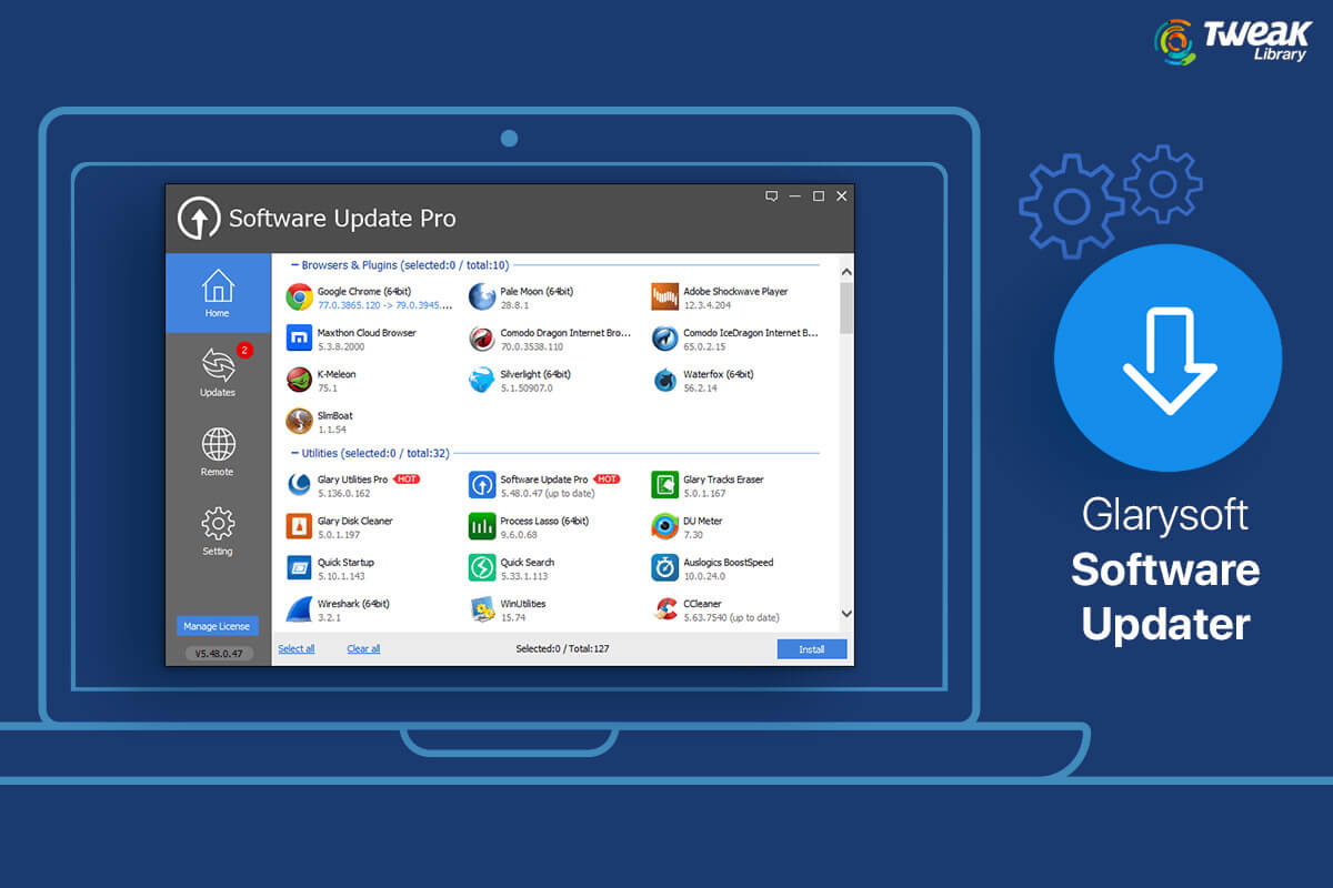 A Complete Review on GlarySoft Software Updater