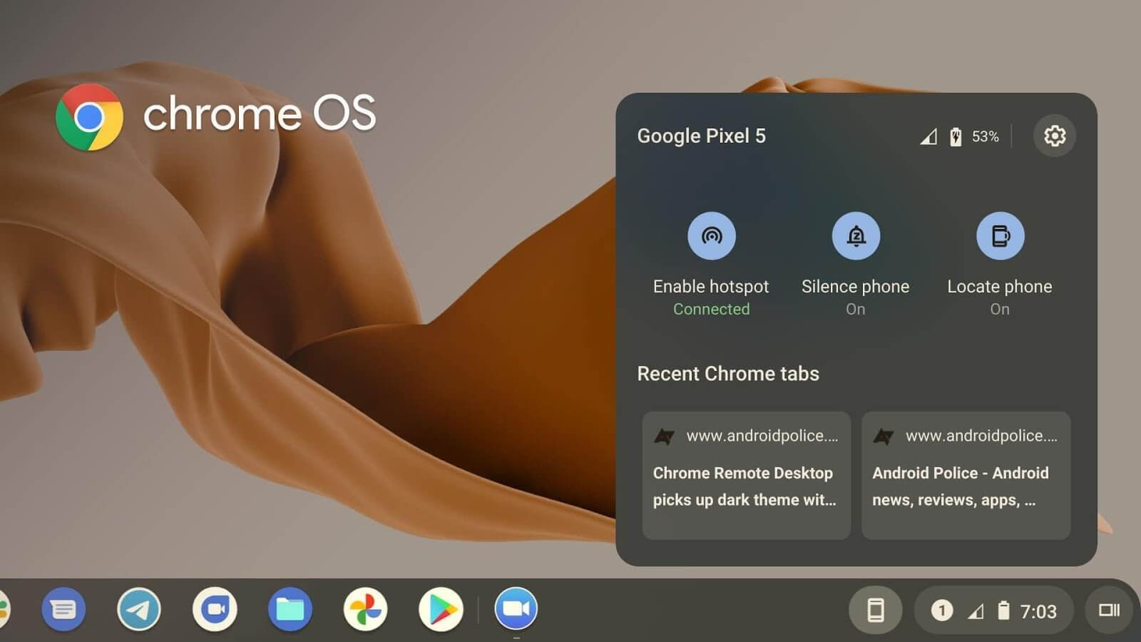 Connect your Android Phone to Chromebook with 'Phone Hub'