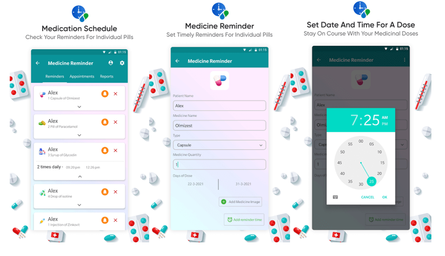 Best Free Medicine Reminder Apps For Android in 2021