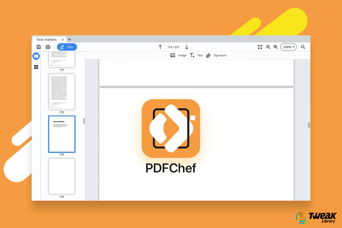 PDFChef: Personalize Your PDFs By Adding A Signature