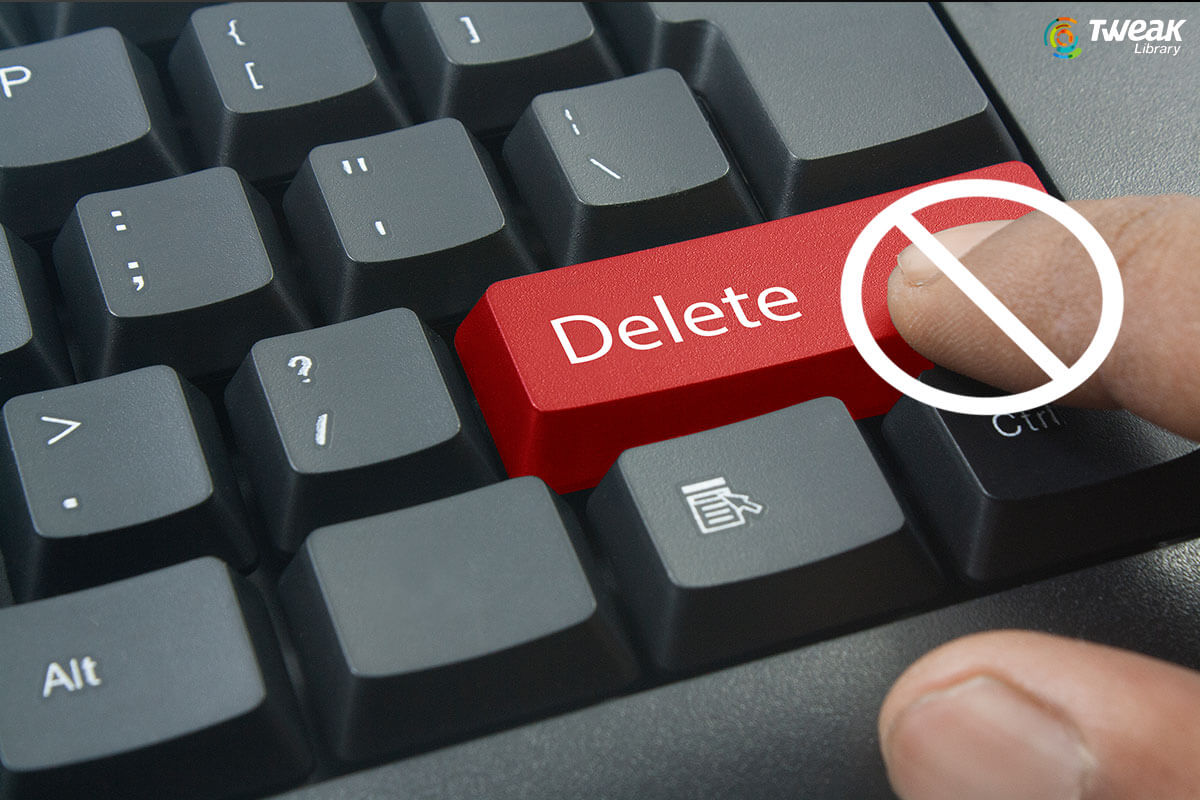 Protect Files And Folders In Windows 10 From Getting Deleted Accidentally
