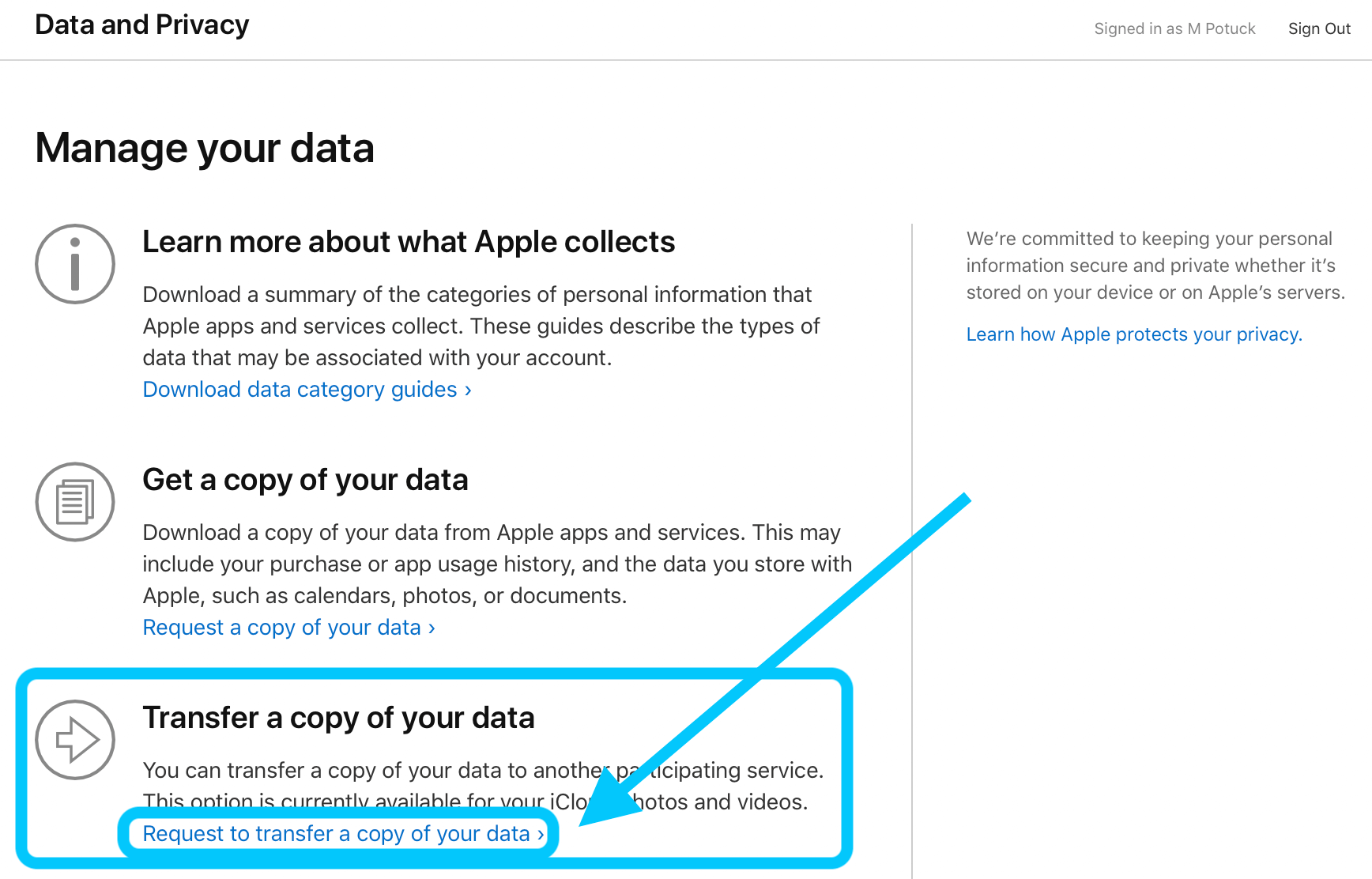 كيفية نقل الصور إلى google على icloud 1