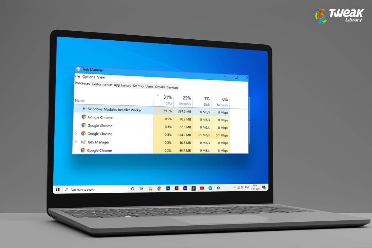 How to Fix Windows Modules Installer Worker High CPU on Windows 10