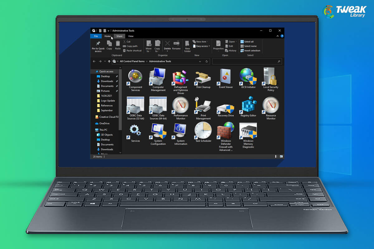 Windows-Tools'-control-panel-for windows power users