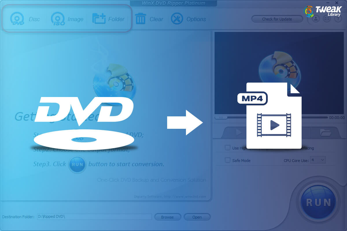 How to Convert DVD to MP4 Without Losing Quality – Windows & Mac