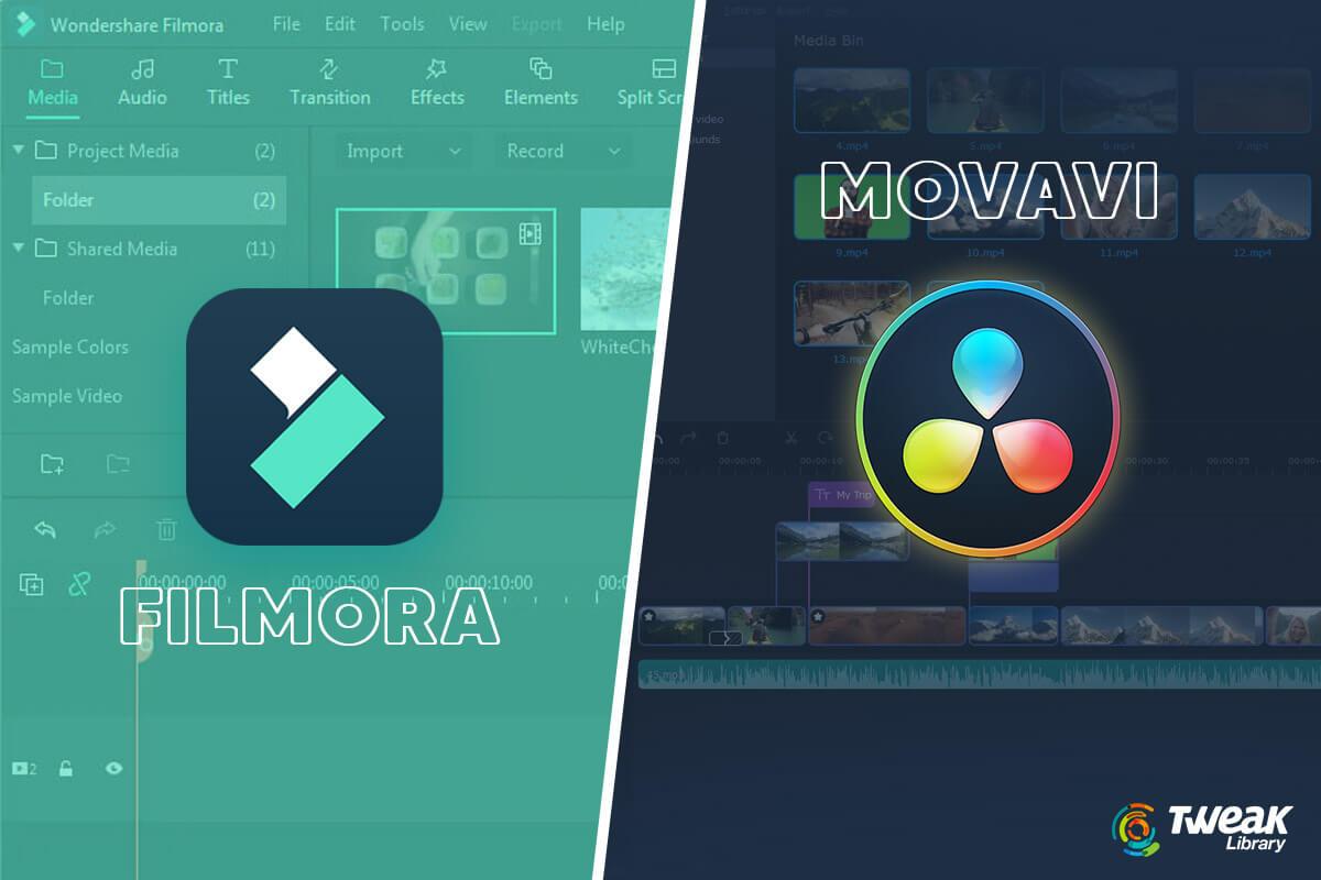 A Quick Detailed Comparison of Movavi Vs. Filmora
