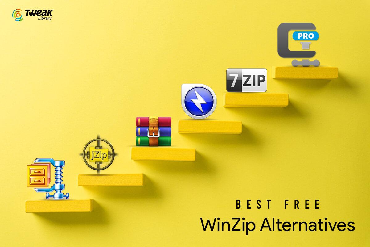10 Best Free WinZip Alternatives