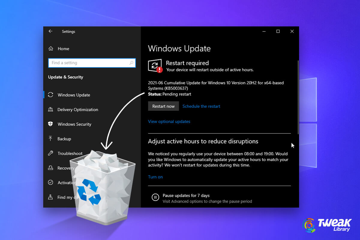 How To Delete Windows Update Files To Save Storage Space