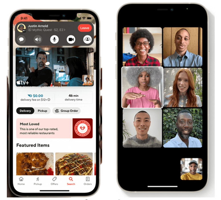 Facetime and Shareplay