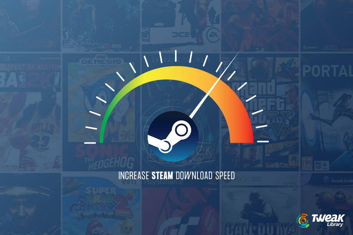 How To Increase Slow Steam Download Speed in Windows 10- 2021