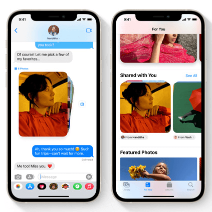 Messages on ios15