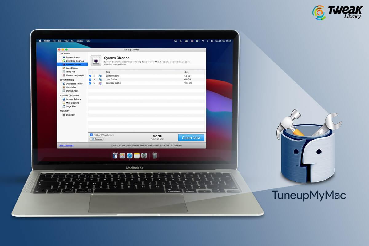 Get TuneupMyMac To Keep Your Mac Optimized