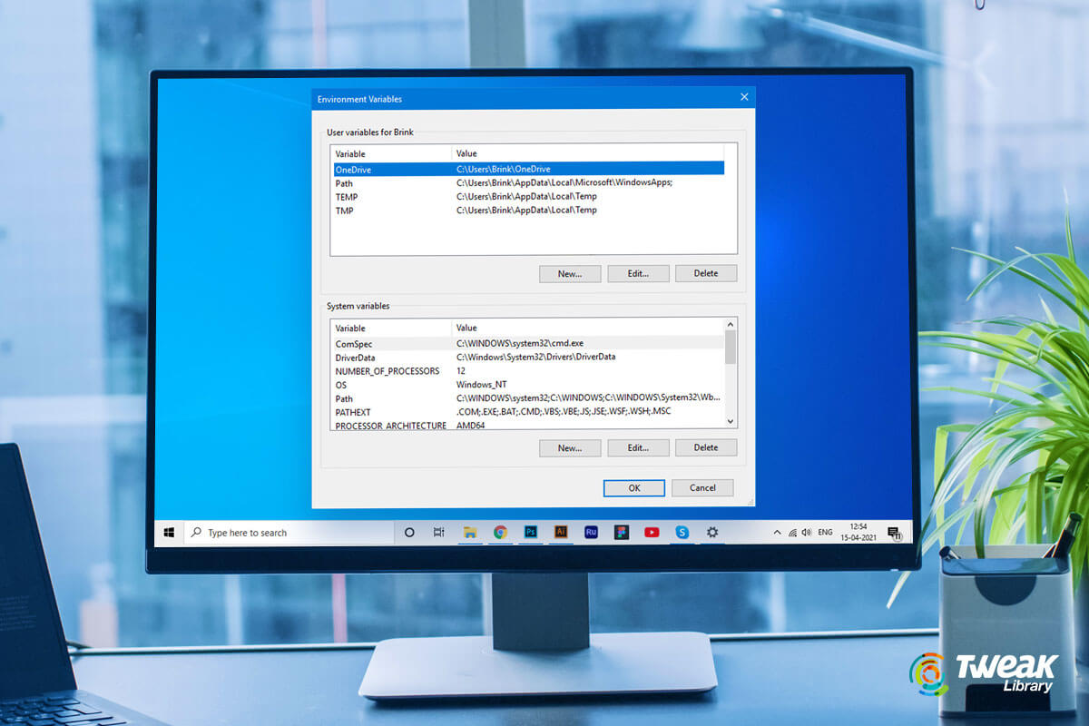 How to Use And Set Environment Variables on Windows 10