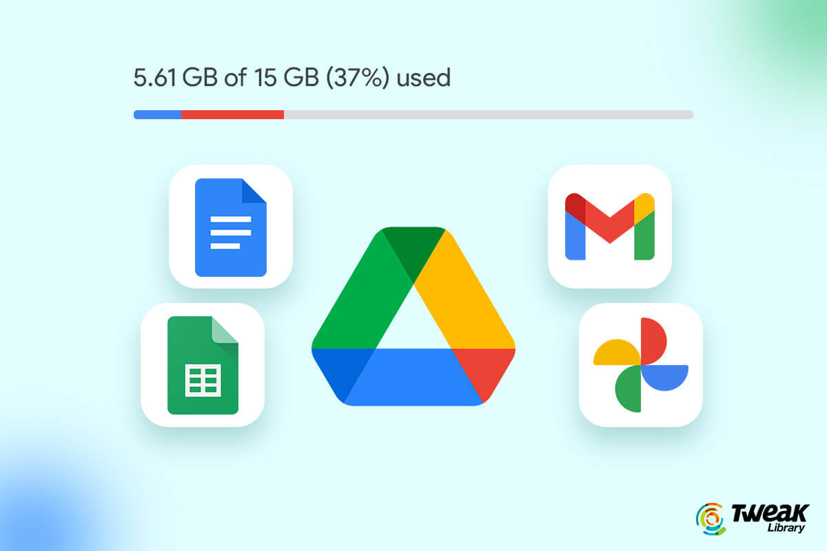 How To Manage 15GB Free Storage of Google Drive