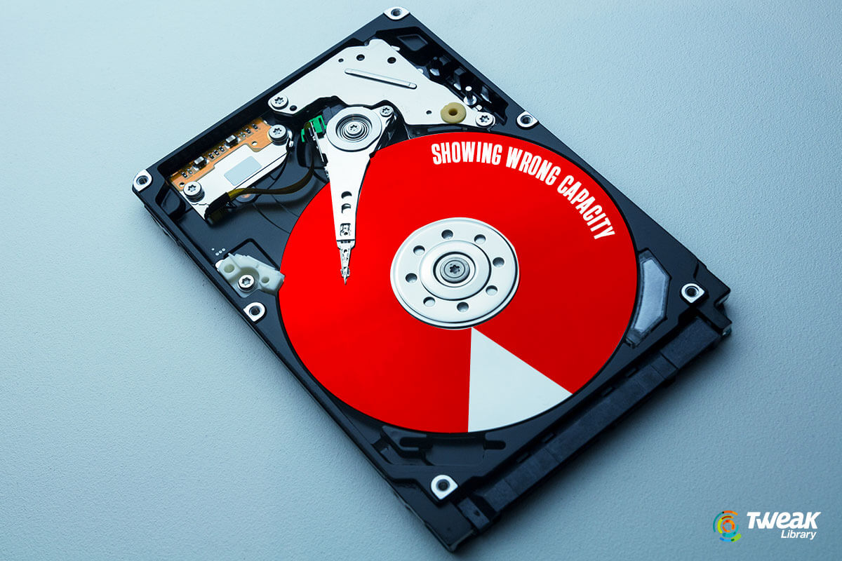 Fixed – How To Resolve Hard Drive Showing Wrong Capacity in Windows 10